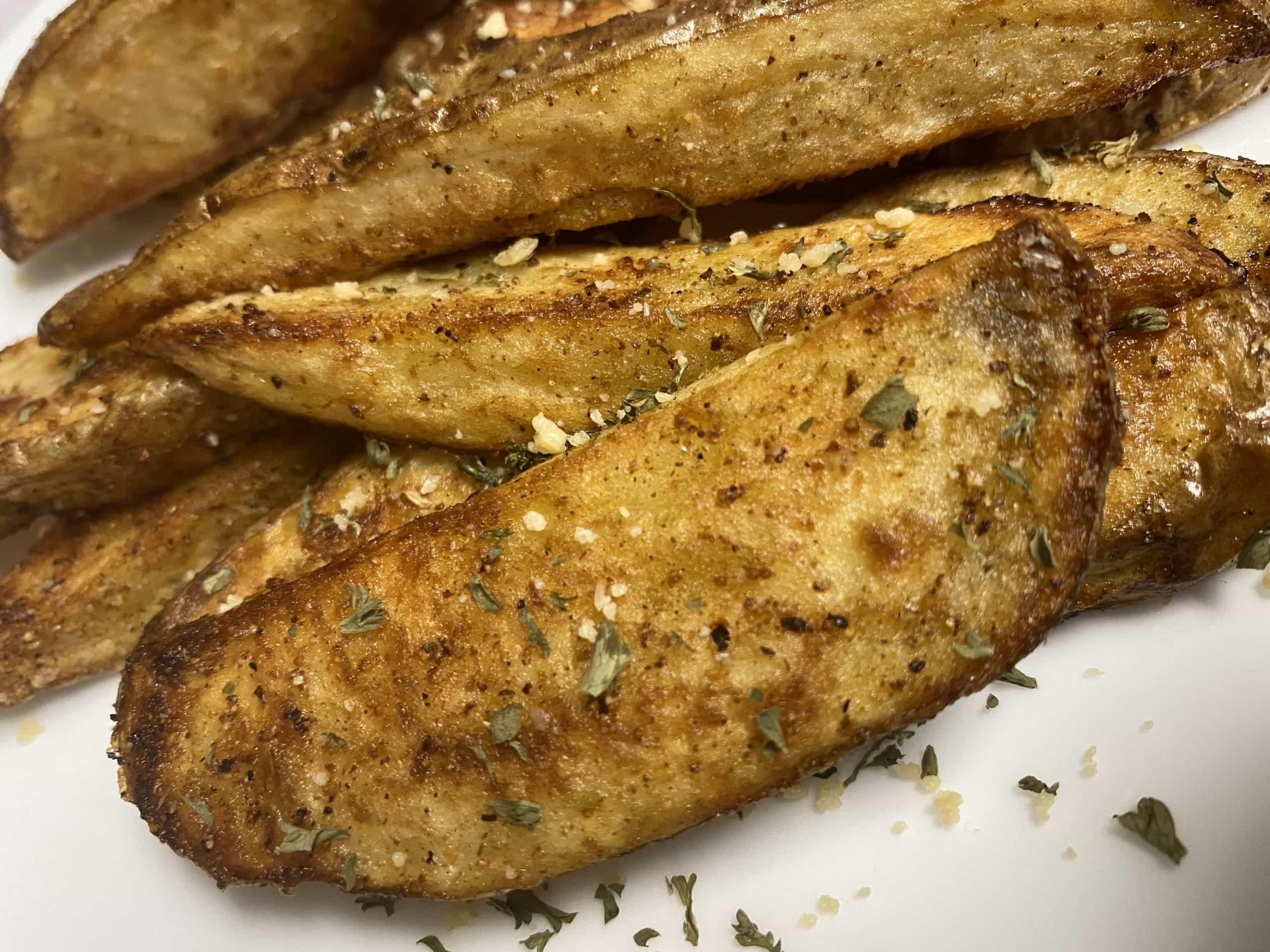Yummy and Easy KFC Style Air Fryer Potato Wedges Air Fried Kfc Potato Wedges