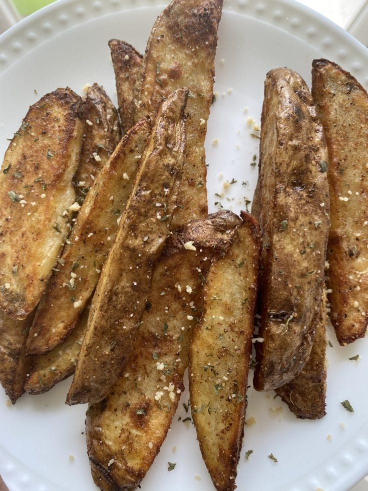 Easy KFC Style Air Fryer Potato Wedges