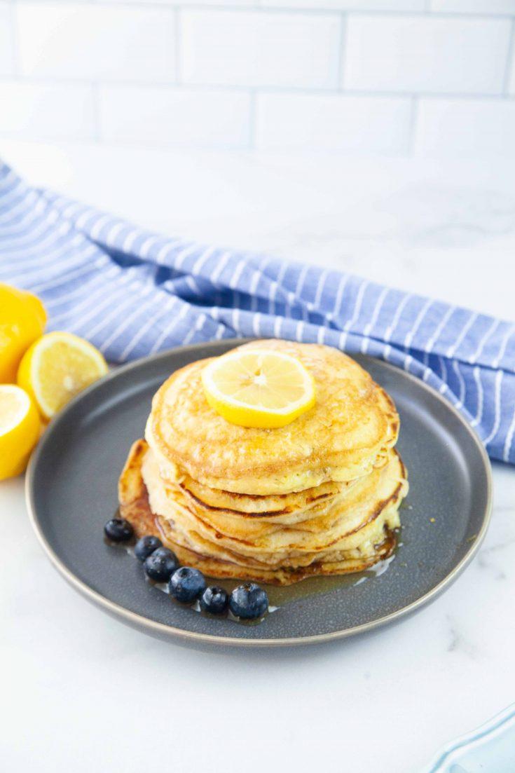 Light and Yummy Lemon Ricotta Pancakes