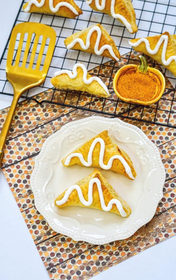 Easy Air Fryer Pumpkin Turnovers