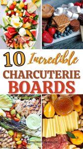 10 CHARCUTERIE BOARDS
