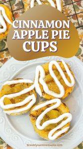 Cinnamon Apple Pie Cups