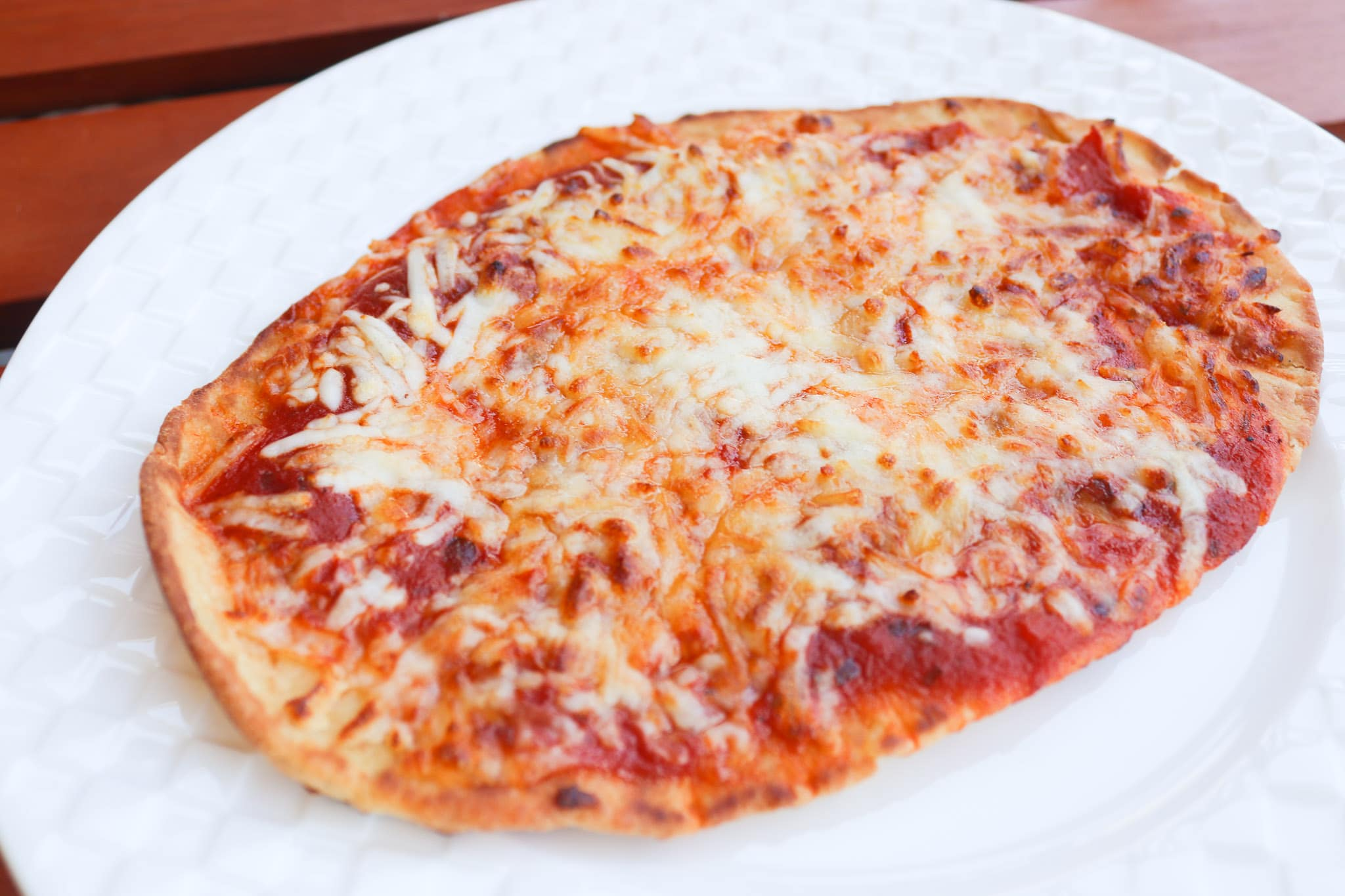 Air Fryer Cheese Pizza