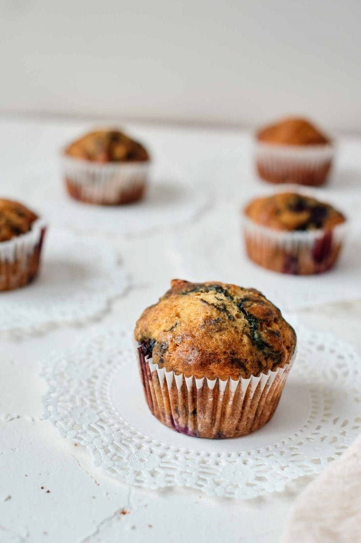 Easy Blueberry Muffins For A Breakfast Treat