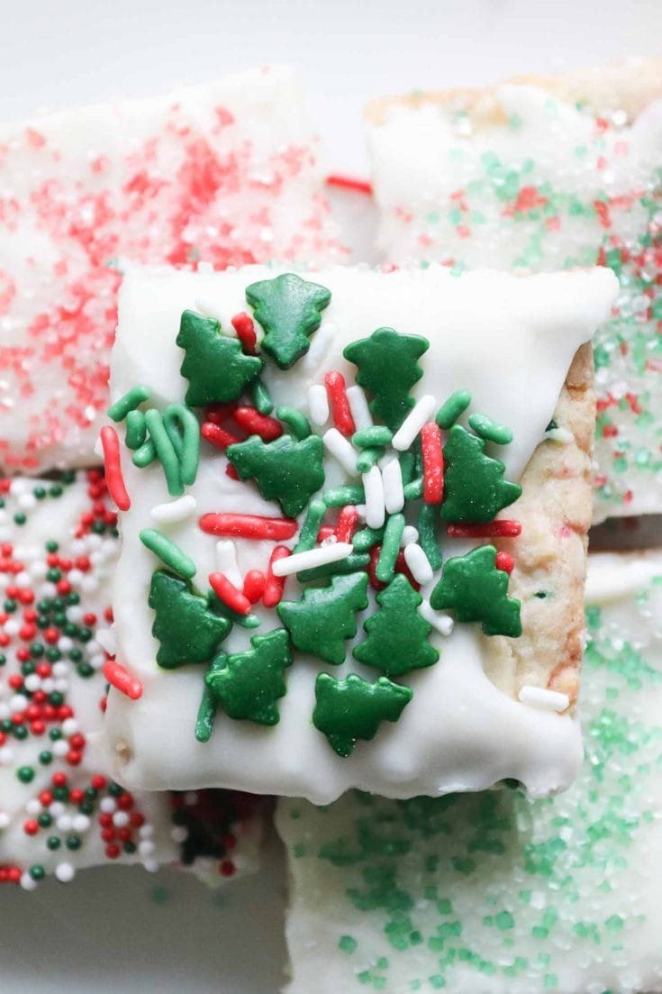 Christmas Sugar Cookie Bars - Fun Treat For The Holidays