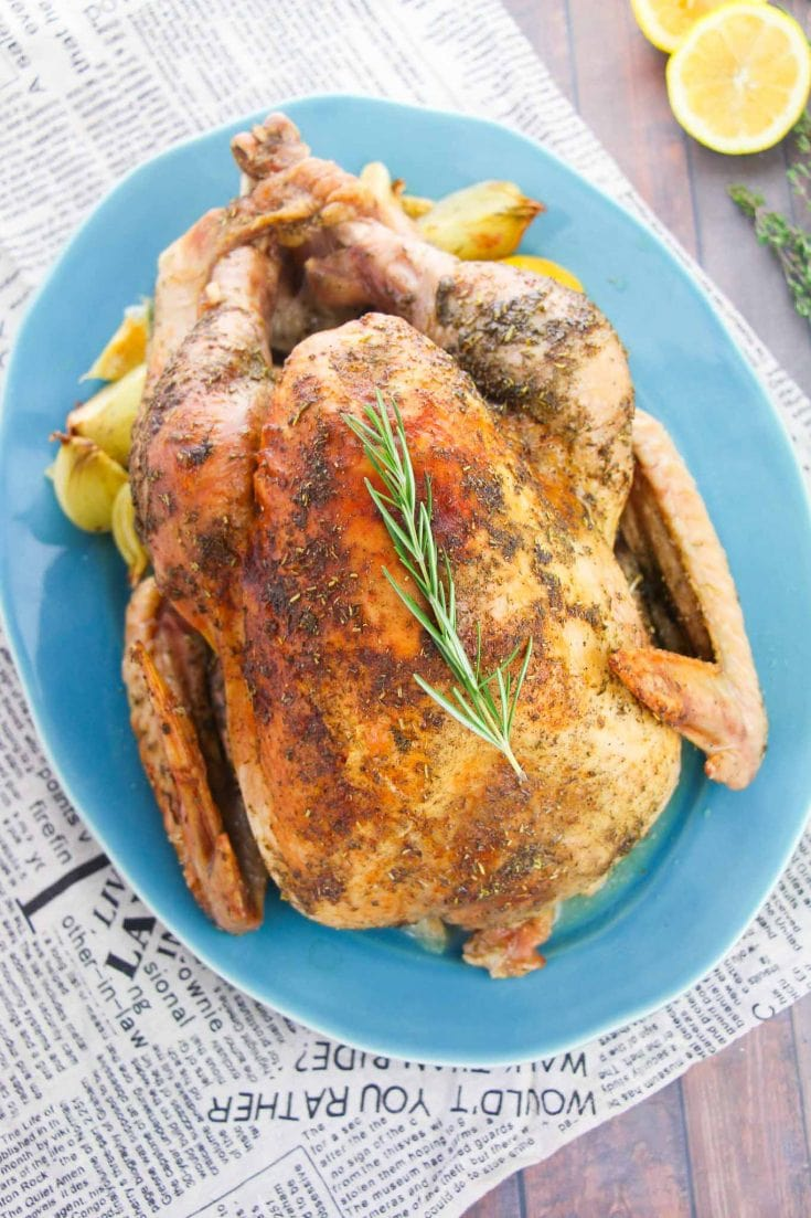 Simple and Fuss Free Roast Turkey Recipe For Thanksgiving
