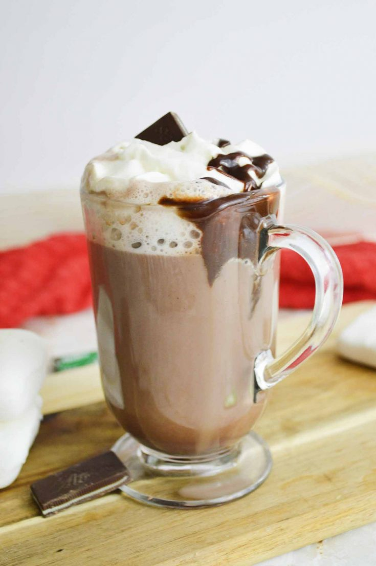 Easy Spiked Hot Chocolate