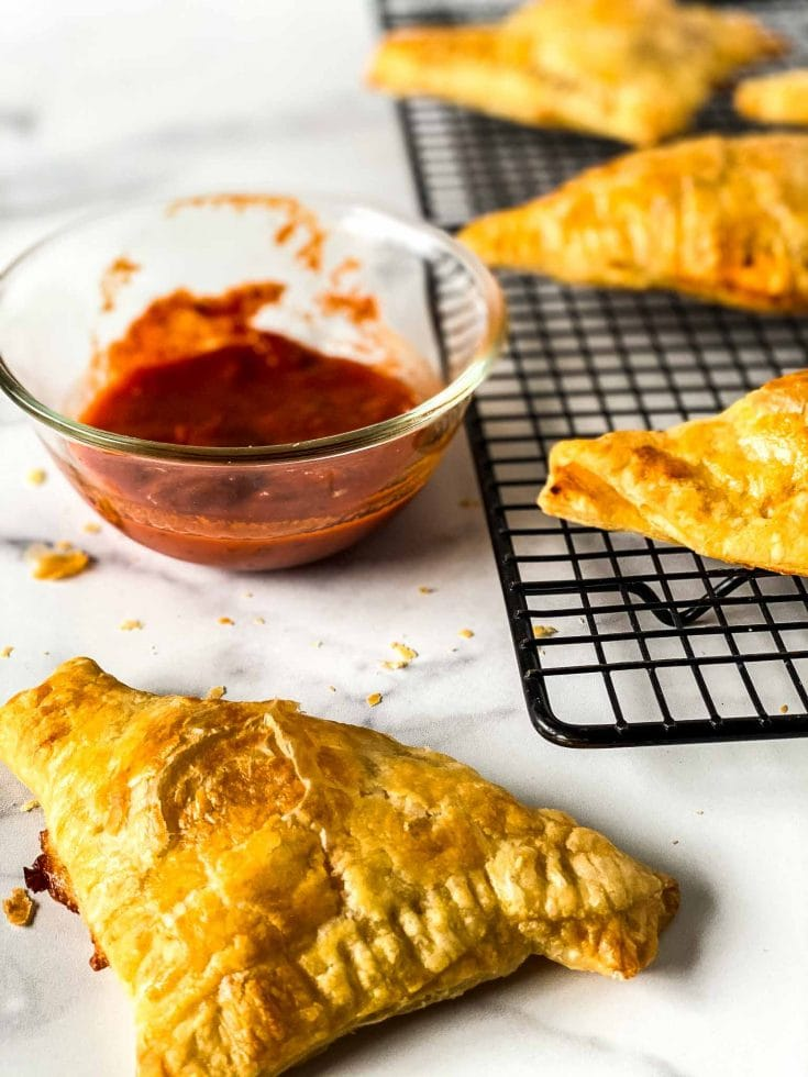 Easy Pizza Pastry Puffs