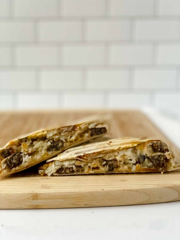 Tik Tok Tortilla Wrap Hack: Breakfast Wraps