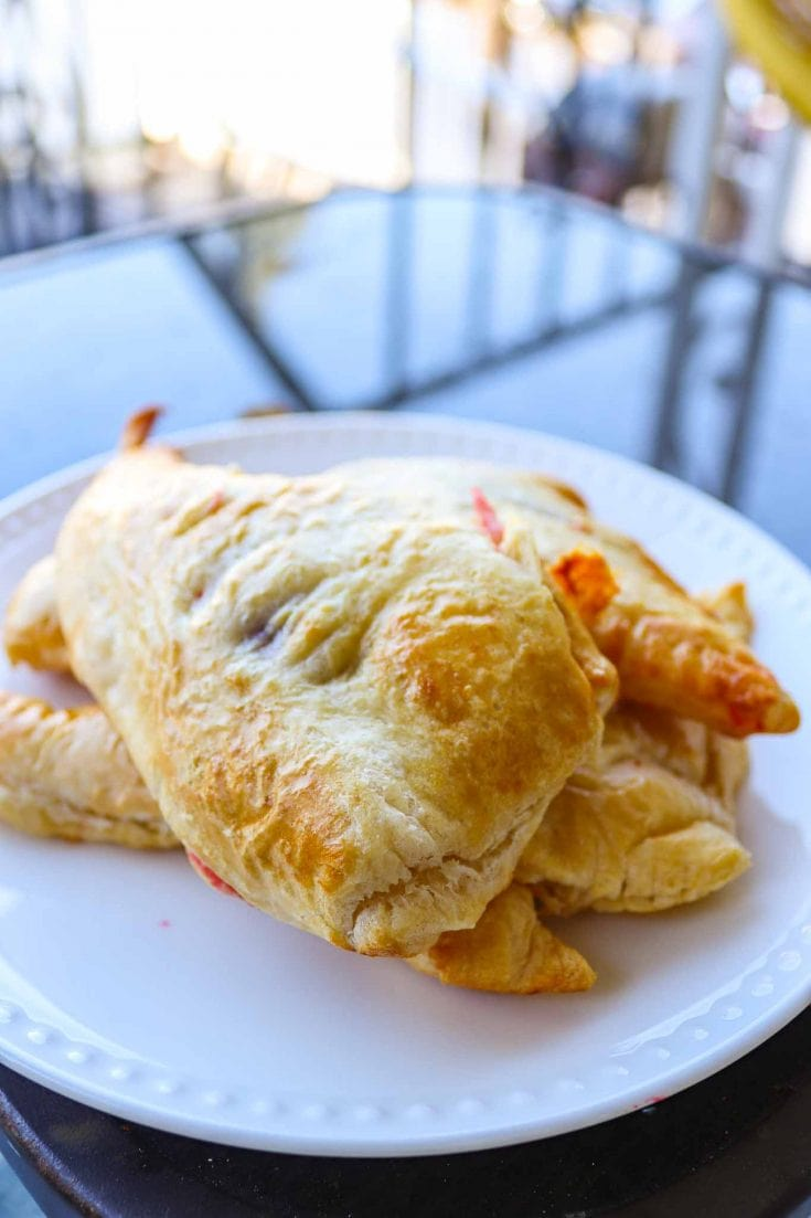 Easy Air Fryer Strawberry Turnovers