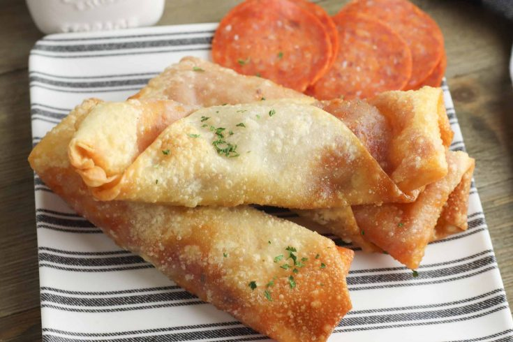 Easy Pizza Egg Rolls - Amazing Family Lunch Ideas