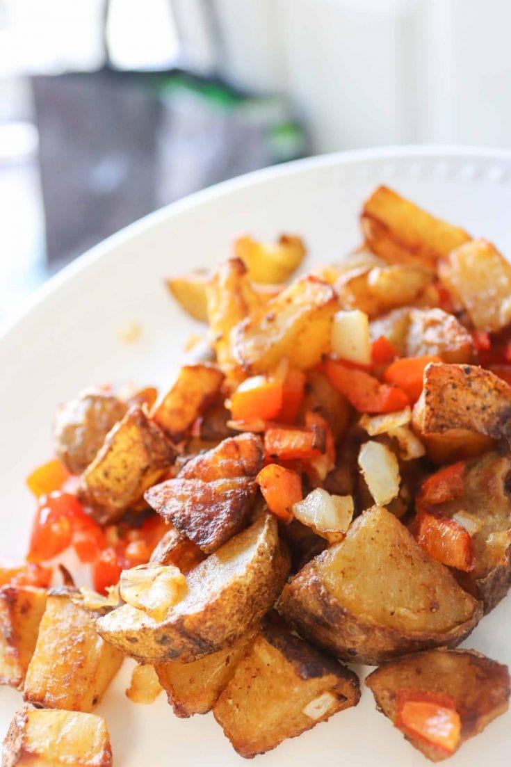 Easy Air Fryer Breakfast Potatoes