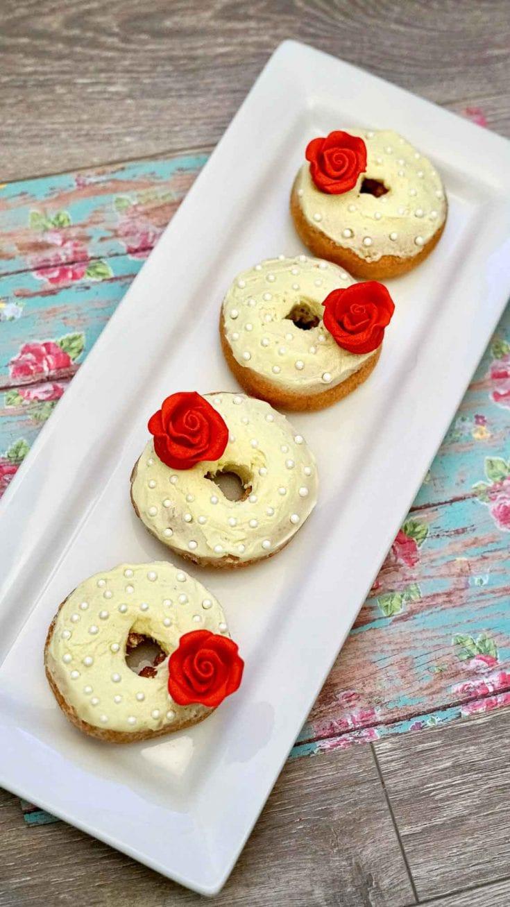Disney Inspired Belle Donuts