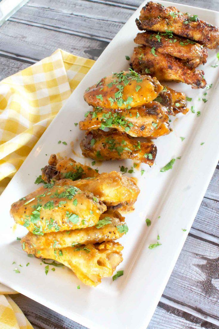 Chicken Wings 3 Ways: Dry Rub, Buffalo & Caribbean Style