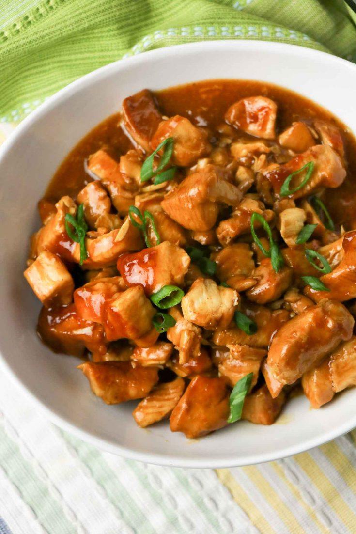 Instant Pot General Tso Chicken