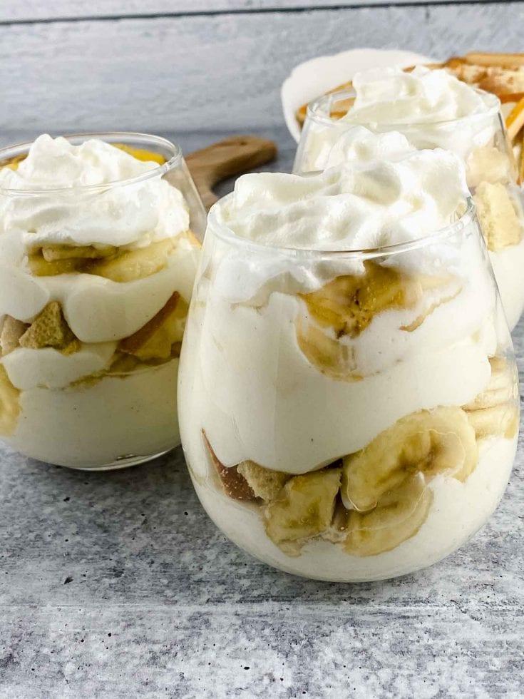 Easy No Bake Banana Pudding