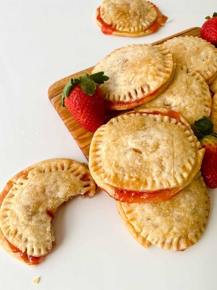 Easy Strawberry Cream Cheese Hand Pies