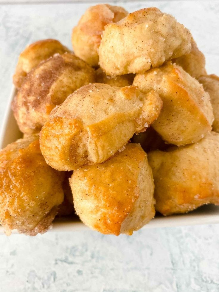 Copycat Auntie Anne's Cinnamon Sugar Pretzel Bites
