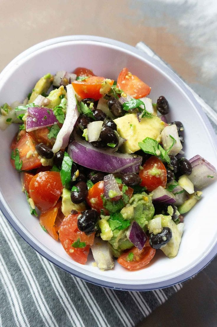 Key Lime Black Bean Salad