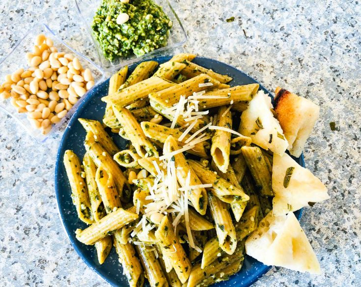 Homemade Pesto Pasta For An Easy Weeknight Meal