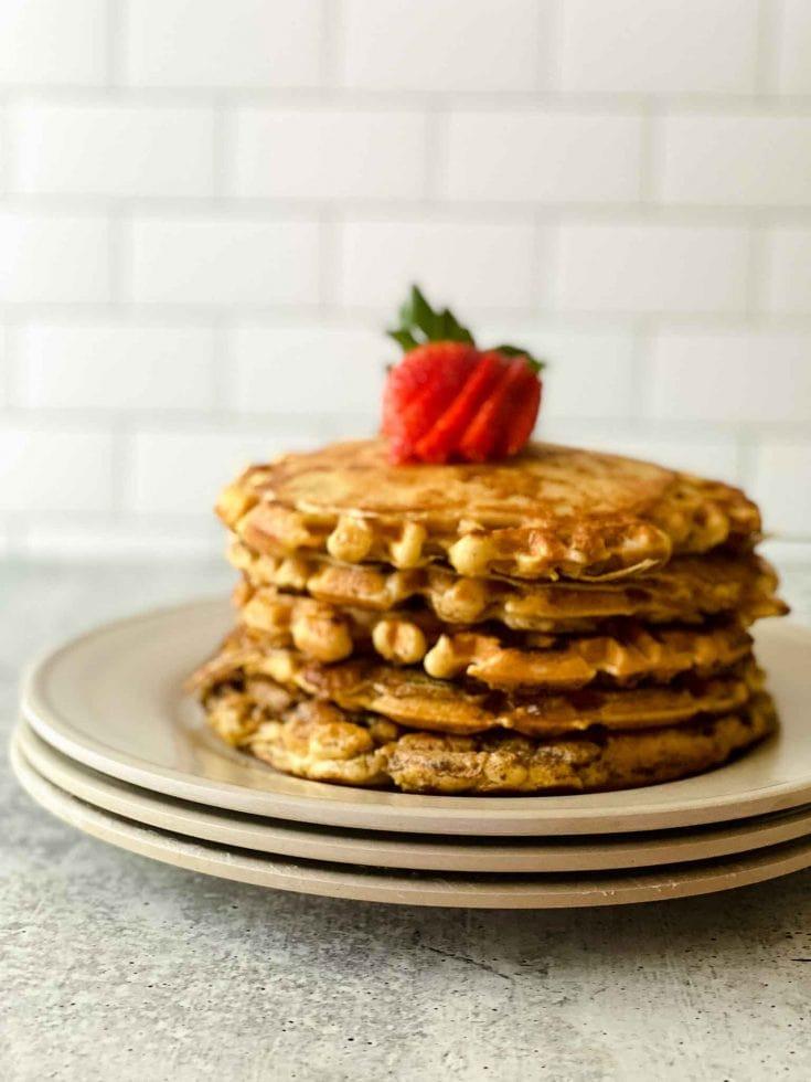 Panwaffle Toast - French Toast Waffle Pancakes