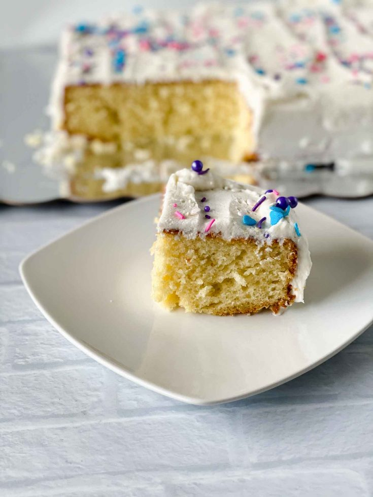 The Best Homemade Vanilla Cake Recipe