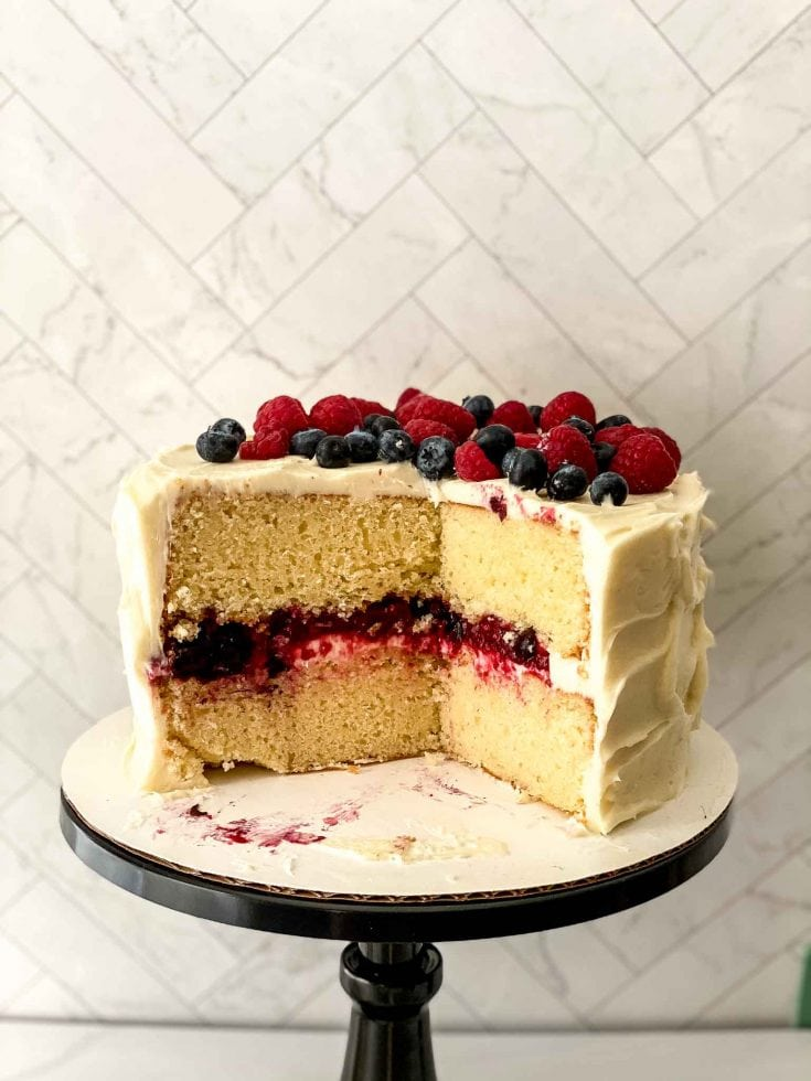 The Most Perfect Berry Chantilly Cake Recipe