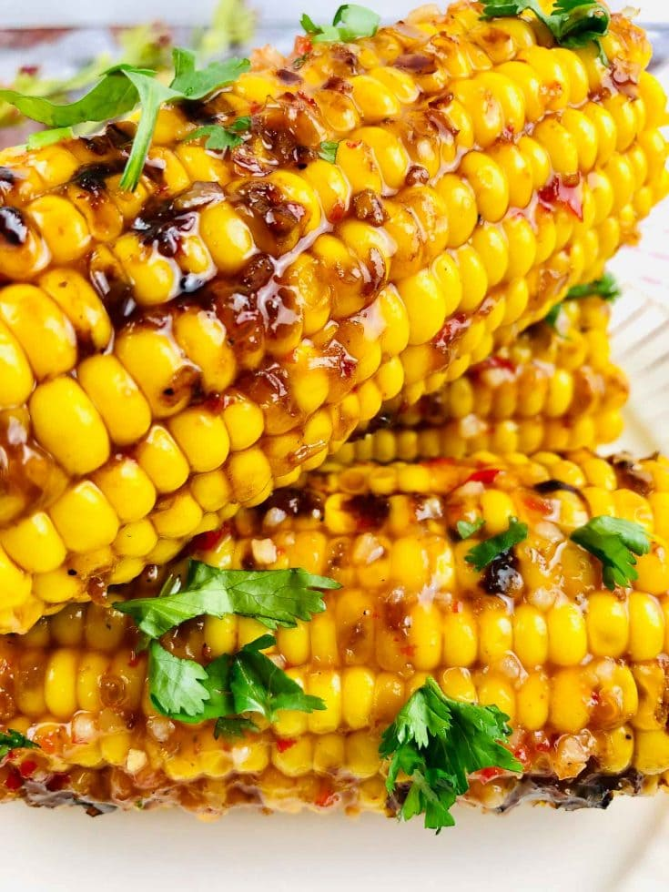 Flavorful Bang Bang Grilled Corn On The Cob Recipe