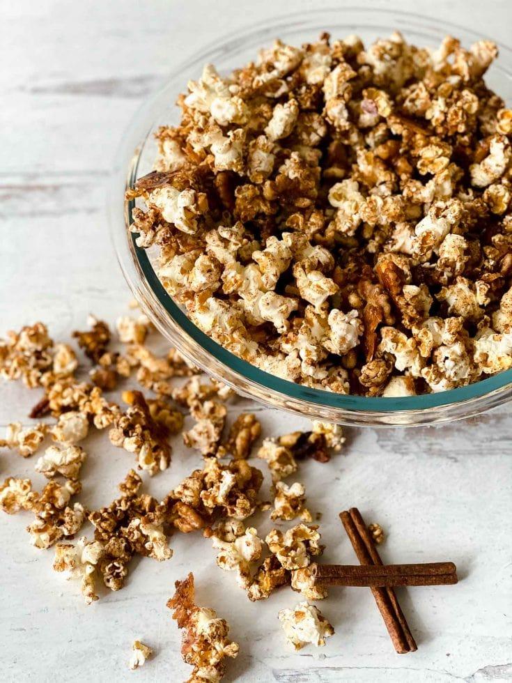 Copycat Cracker Jack Popcorn Recipe - Healthy Version