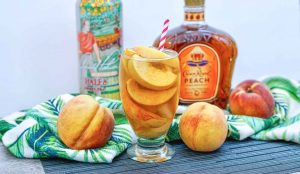 Peach Crown Royal Tea
