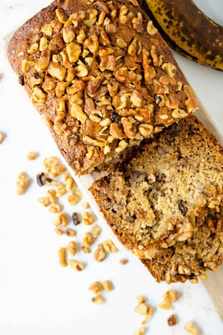 Authentic Starbucks Banana Bread Recipe With Walnuts