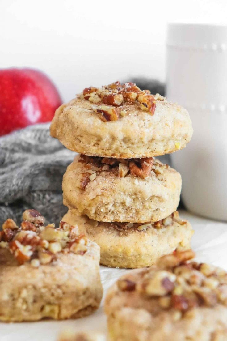 Apple Cider Country Scones Recipe With Apple Cinnamon Glaze