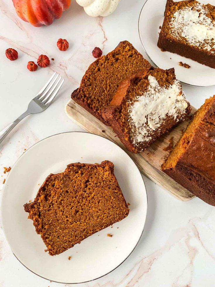 Copycat Starbucks Pumpkin Bread Loaf