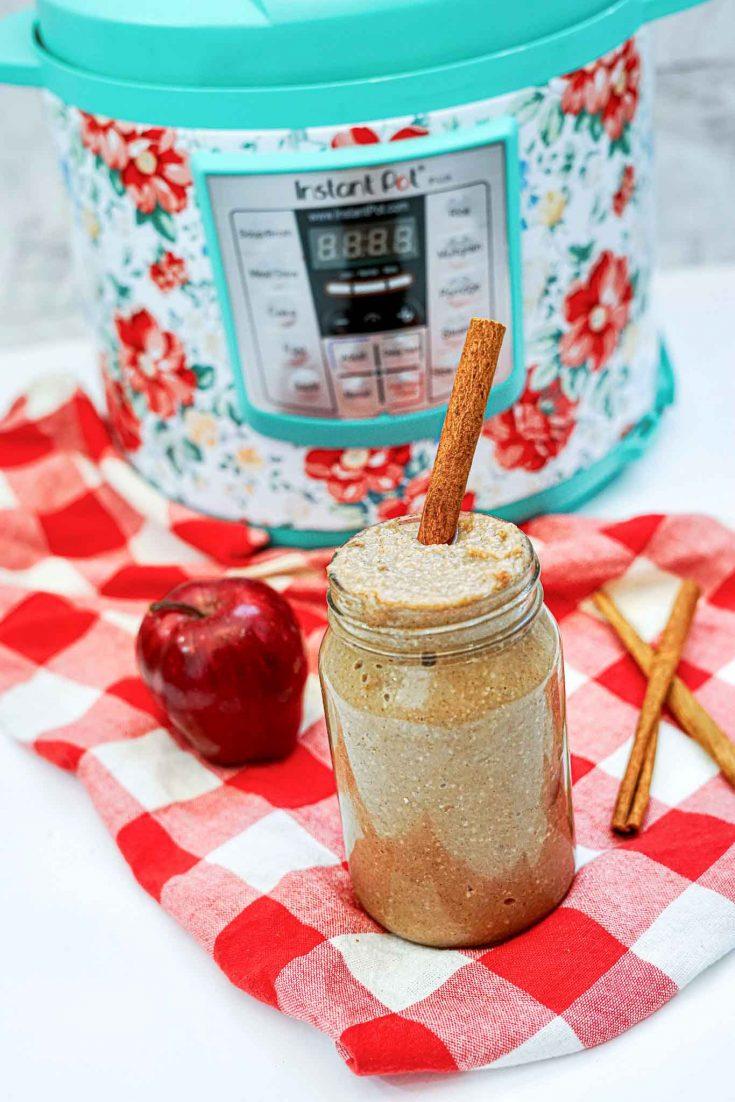 Easy Instant Pot Homemade Applesauce Recipe
