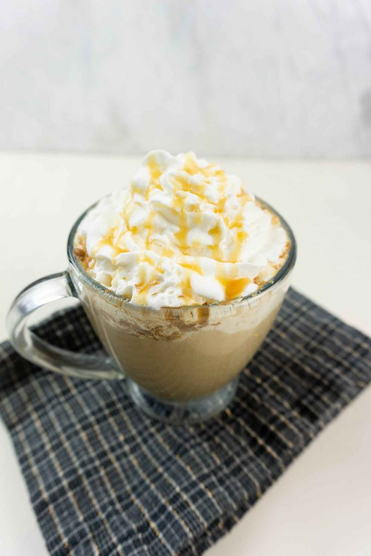 Easy Salted Caramel Pumpkin Latte