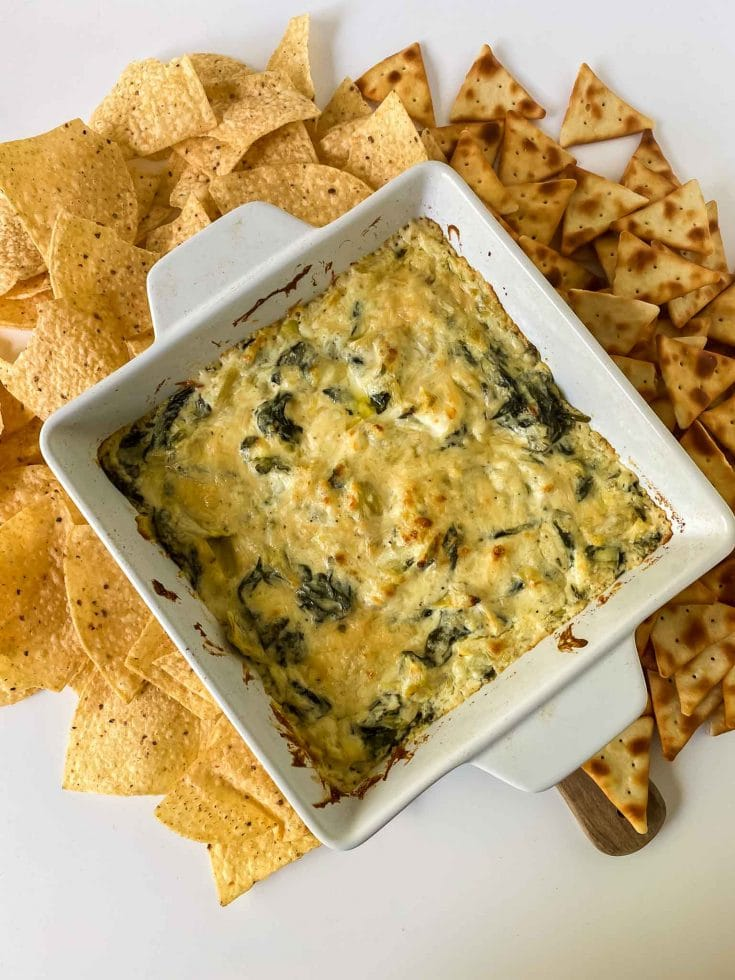 Delicious Spinach Artichoke Dip Made Right In Your Oven