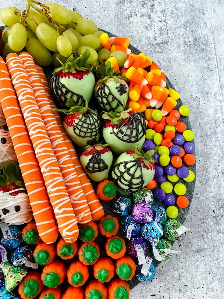 Spooky and Fun Halloween Charcuterie Board