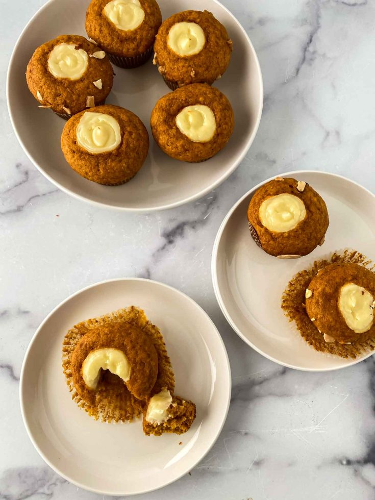Yummy Starbucks Cream Cheese Pumpkin Muffins